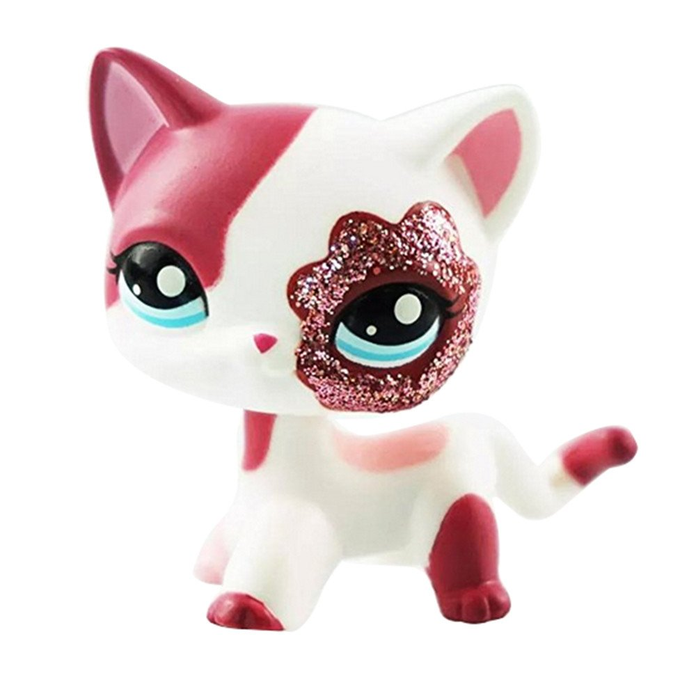Pet Shop lps 2291 Animal Pet Cat Collection Child Girl Boy Figure Toy Loose Cute lps crossed3_Pet toy store