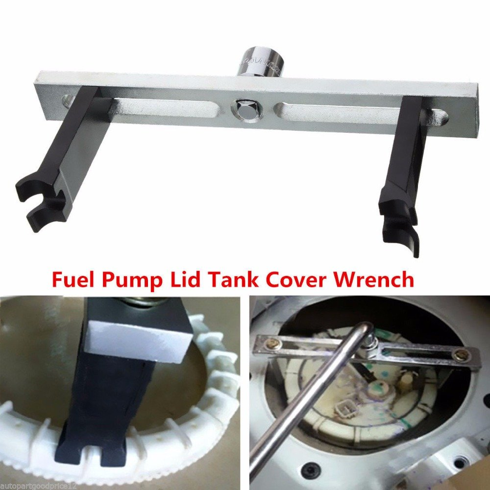 Fbest Car Fuel Tank Pump Wrench Lid Cover Remove Spanner Adjustable Tool For Universal Audi Benz BMW VW Citroen Toyota Nissan Chevys