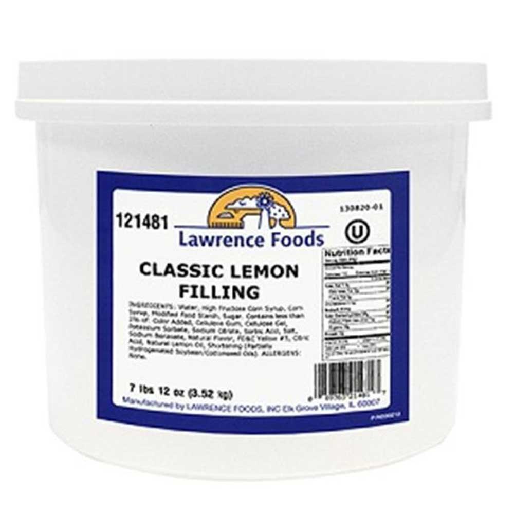 Lemon Filling 4 Case .75 Gallon