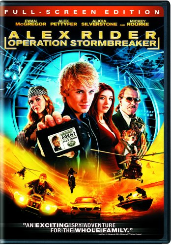Alex Rider - Operation Stormbreaker (Full Screen - Operation Full