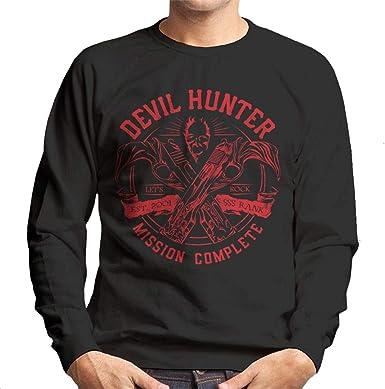 Cloud City 7 Devil Hunter Ebony and Ivory DMC Men's Sweatshirt