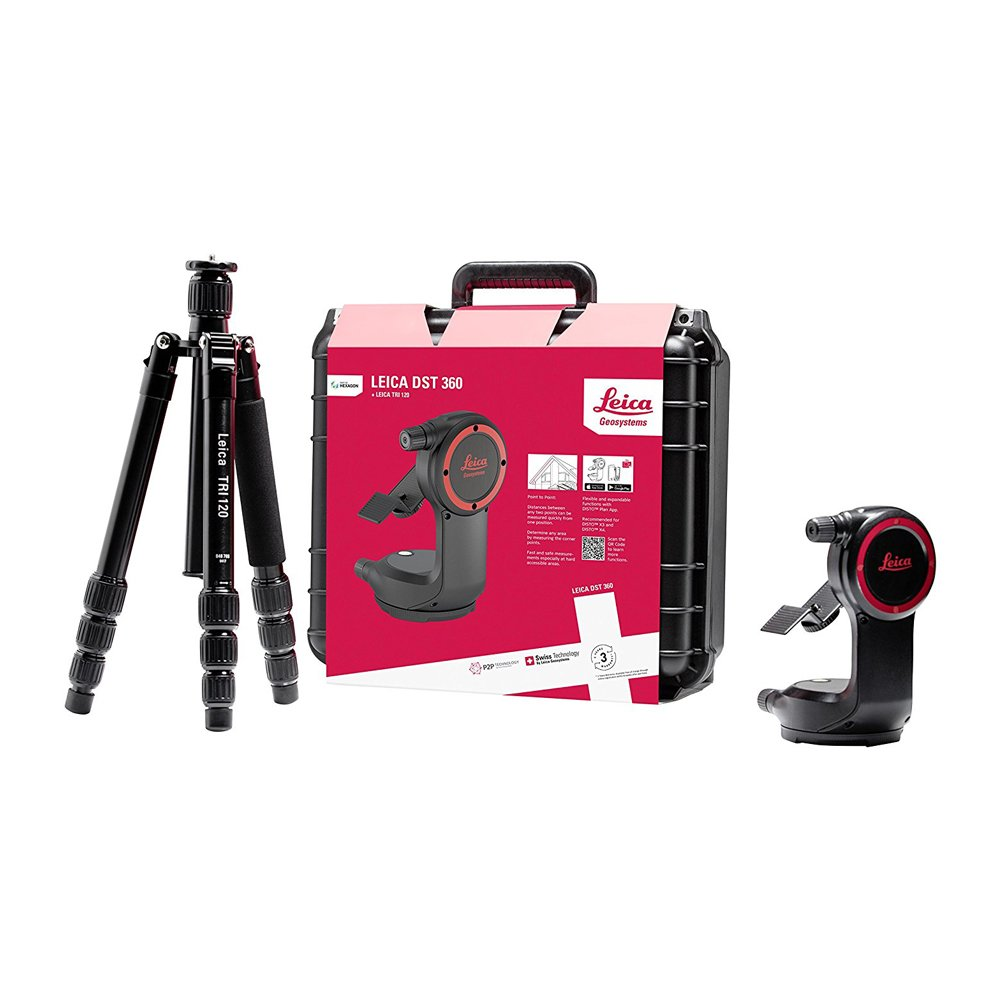 Leica 855138 Disto X4 Laser Distance Meter With 848783 DST360 Point to Point Accessory by Leica (Image #3)