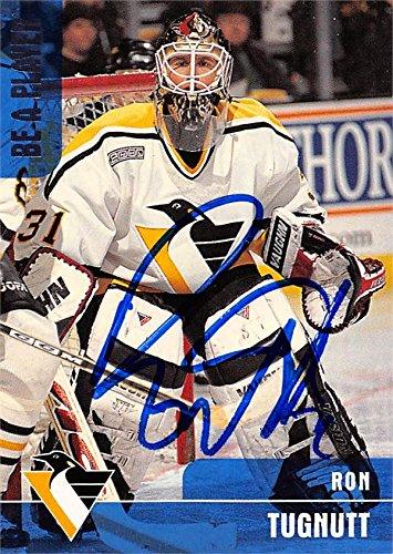Ron Tugnutt autographed Hockey Card (Pittsburgh Penguins) 1999 BAP  351 29fe131ea