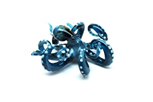 Blown Glass Octopus, Glass Octopus, Glass, Octopus, Ocean, Octopus Sculpture, Squid, Kraken, Cephalopod, Blown Glass, Octopus Figurine