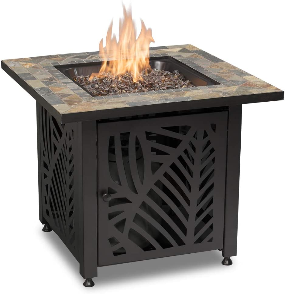 Endless Summer GAD15258SP LP Gas Outdoor Fire Table, Multi Color
