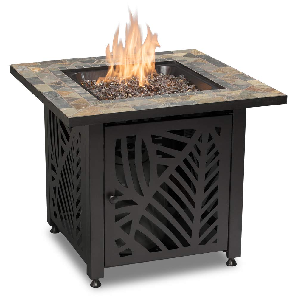 Endless Summer GAD15258SP LP Gas Outdoor Fire Table, Multi Color by Endless Summer
