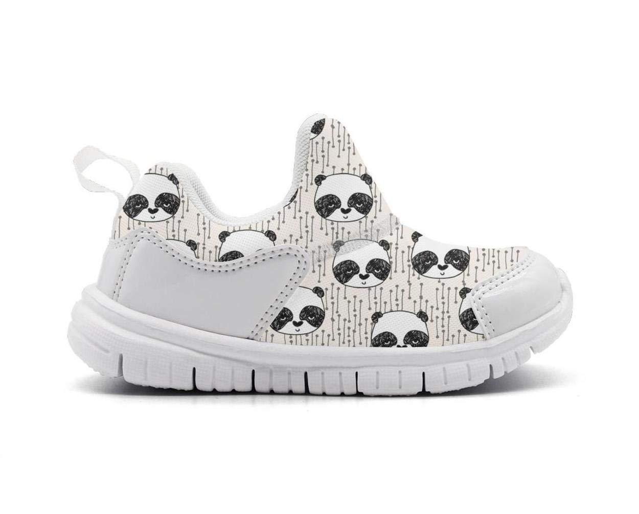 ONEYUAN Children Japan Kawaii Panda Bear Kid Casual Lightweight Sport Shoes Sneakers Walking Athletic Shoes