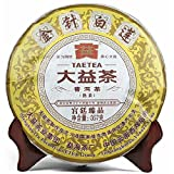 Lida 2013yr 357g Menghai Dayi Golden Needle White Lotus Pu-erh Tea Cake Ripe Chinese Puer Tea