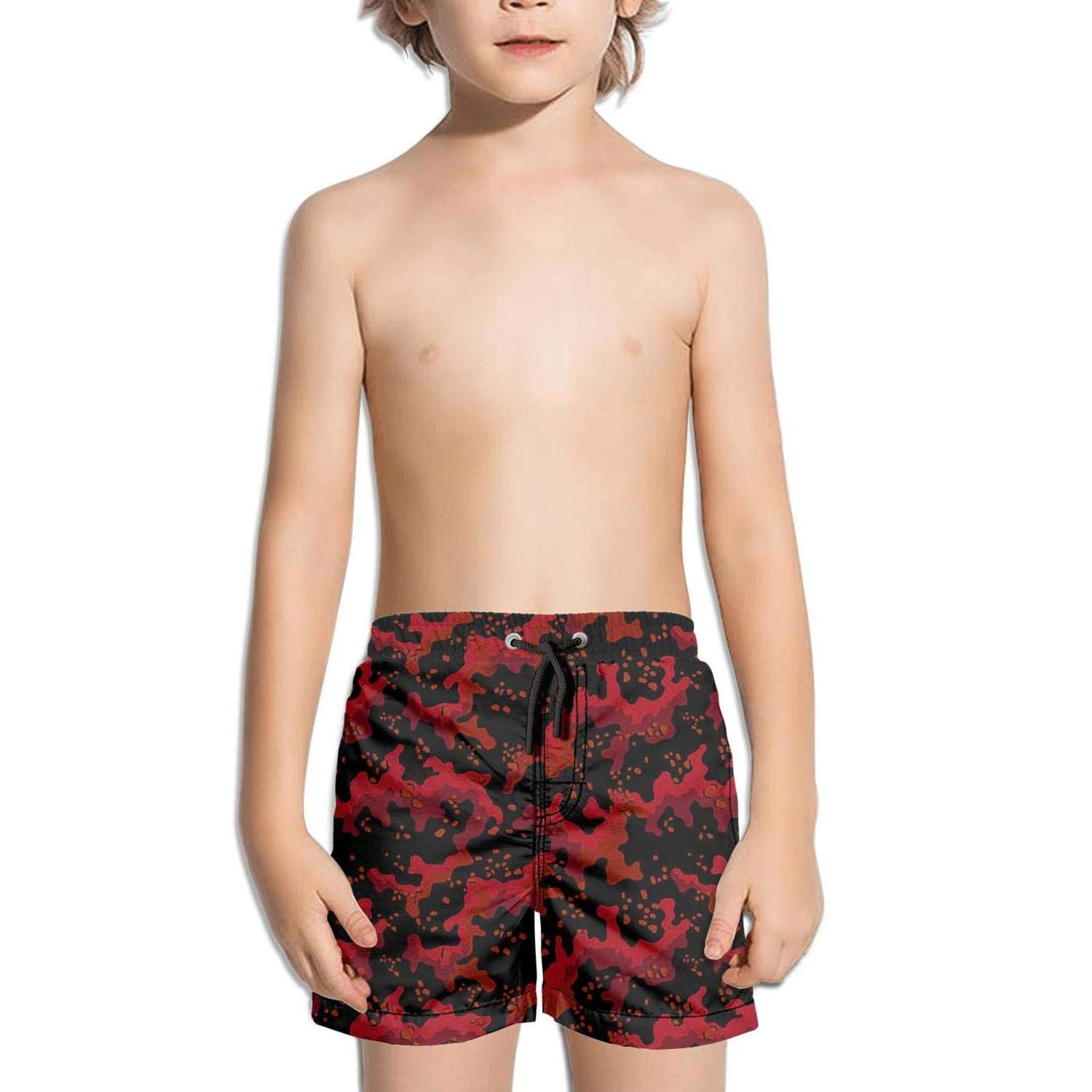 uejnnbc Abstract Camouflage Pattern Ultra Solid Solid Board Swimming Trunks Shorts