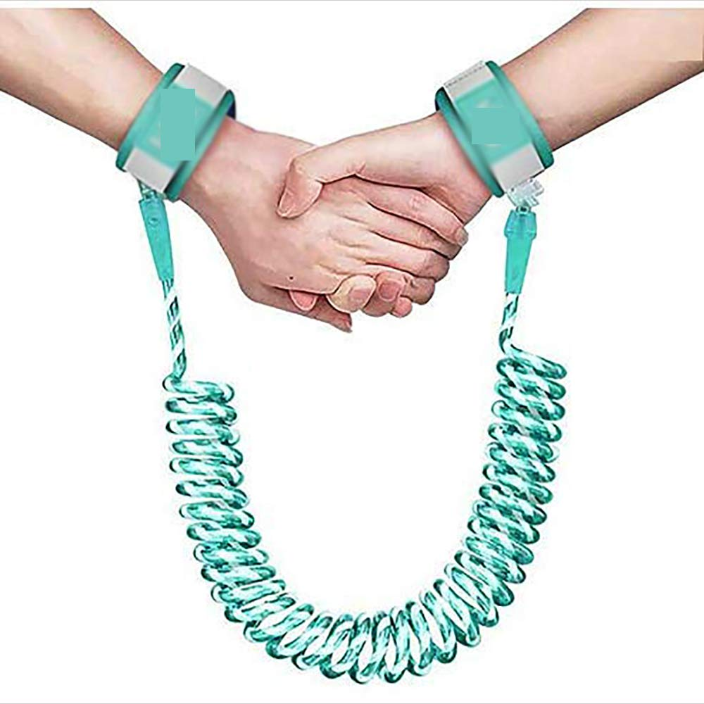 LBBZJM Anti Lost Wrist Link, Safety Wristband Walking,Harness Leash Child Safety Harness Leash for Toddlers, Babies & Kids,B,2.5m