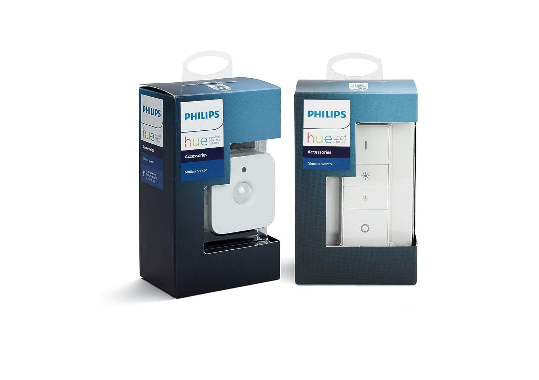 Philips Hue Dimmschalter und Hue Bewegungssensor, Zubehör für Ihr Philips Hue System