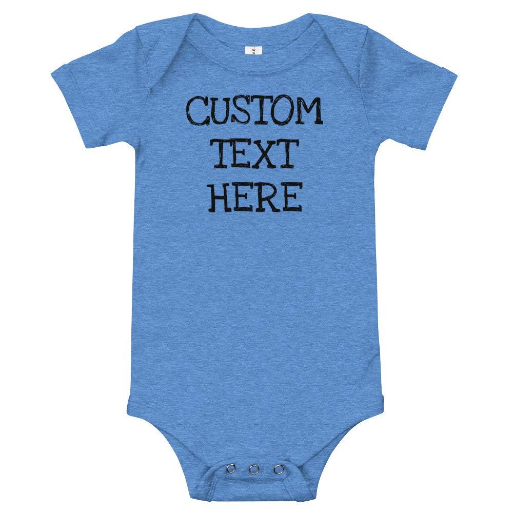 Alpha5StarDeals Customizable Baby Announcement T-Shirt