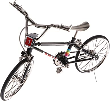 SM SunniMix 1:10 Mini Modelo de Bicicleta/Bicicleta de ... - Amazon.es