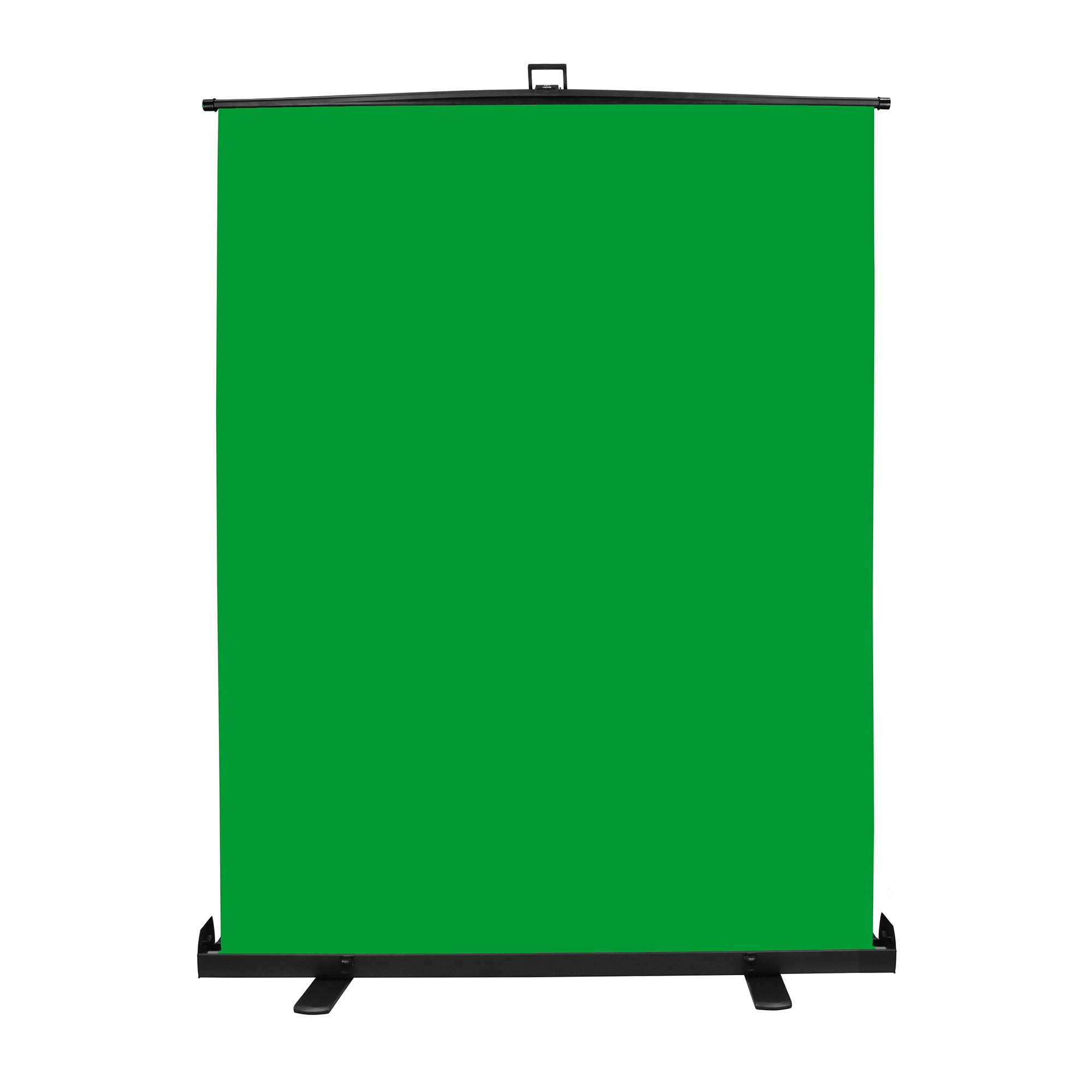 Emart Green Screen, Collapsible Chromakey Panel for Photo Backdrop Video Studio,Portable Pull Up Wrinkle-Resistant Greenscreen Background, Auto-Locking Air Cushion Frame, Solid Safety Aluminium Base by EMART
