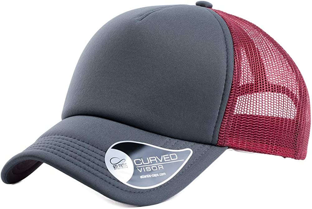Jeff & Aimy Breathable Quick Dry Mesh Baseball Cap for Men and Women Adjustable Velcro Tape Dad Trucker Hat