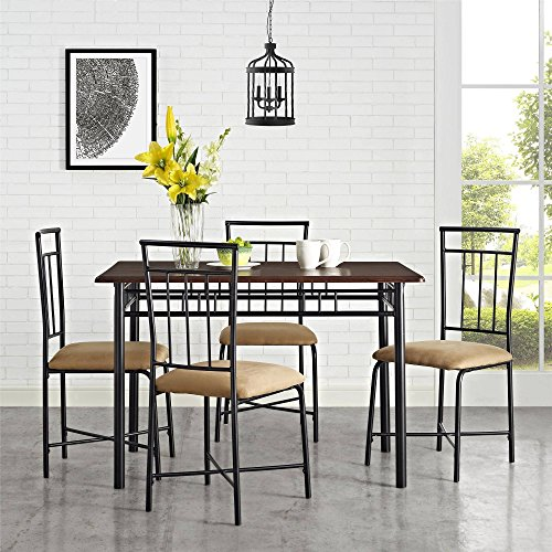 MS furniture Transitional 5 Piece Dining - Set Piece 46 Dinner