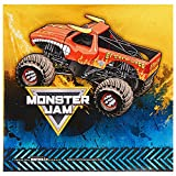 Monster Jam birthday party supplies 40 pack lunch napkins