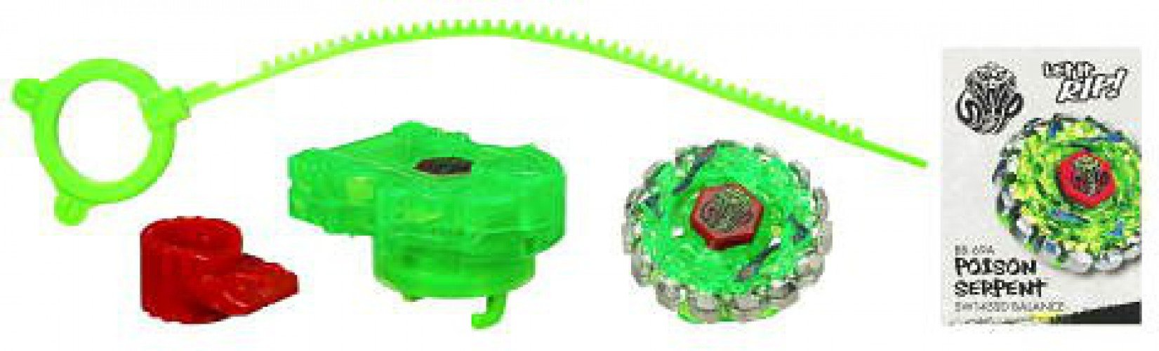 Beyblade Sonic Series Spinning Tops - Poison Serpent by Hasbro (Image #1)