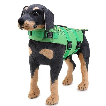 Perro de mascota Chaleco salvavidas Ropa de seguridad Chaleco ...