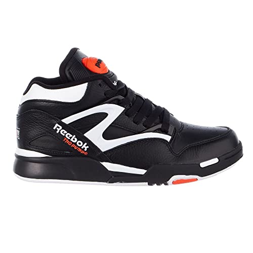 d4f6b8b713fb Reebok Pump Omni Lite Shoes - Black White Varsity Orange - Mens - 8 ...