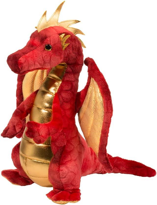 Amazon.com: Douglas Eugene Red Dragon Plush Stuffed Animal: Toys & Games