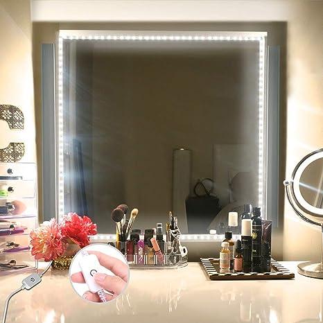 Led vanity mirror lights kit xyop 13ft4m makeup mirror lights led vanity mirror lights kitxyop 13ft4m makeup mirror lights flexible led light aloadofball Choice Image