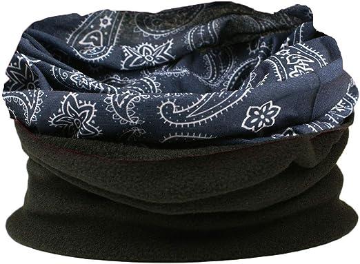 Womens RockJock Multifunctional Fleece Neckwarmer Hat Balaclava Headband Ski Hat