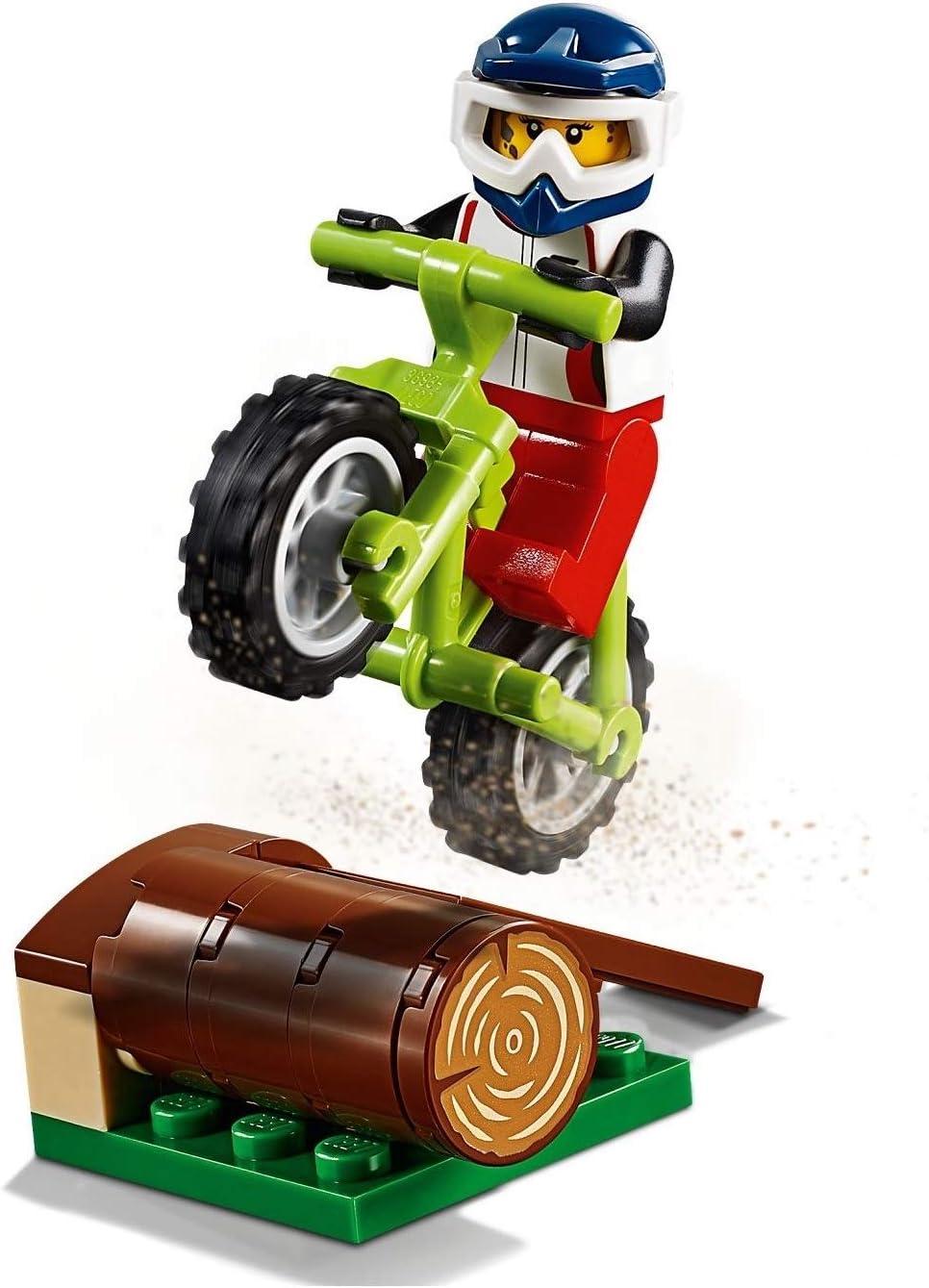 LEGO 60202 Minifigura de Aventura al Aire Libre: Bicicleta de ...
