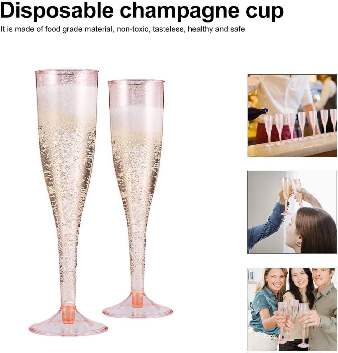 matrimoni Hakka usa e getta in plastica 30 calici da champagne in plastica per feste