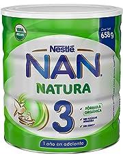 NAN Natura 3 Fórmula Orgánica, 1 a 3 Años, 658 g