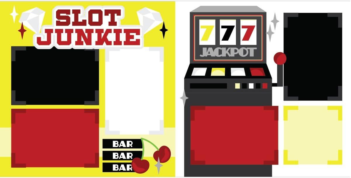 Slot Junkie Casino Scrapbook Page Kit