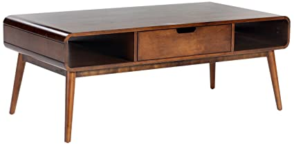 modern wood coffee table Amazon.com: Belham Living Carter Mid Century Modern Coffee Table  modern wood coffee table