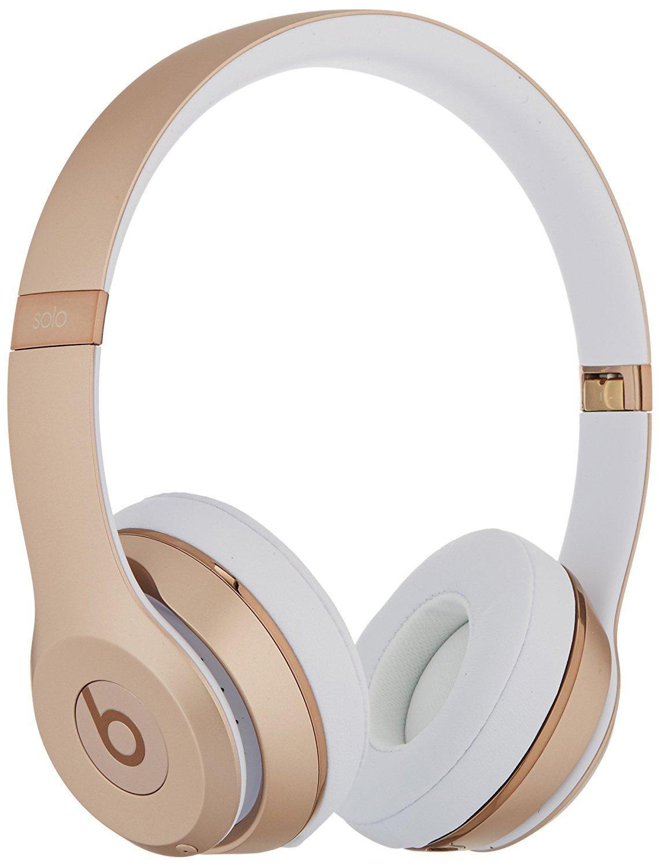 Beats Solo3 Wireless On-Ear Headphones - Gold (Certified Refurbished)