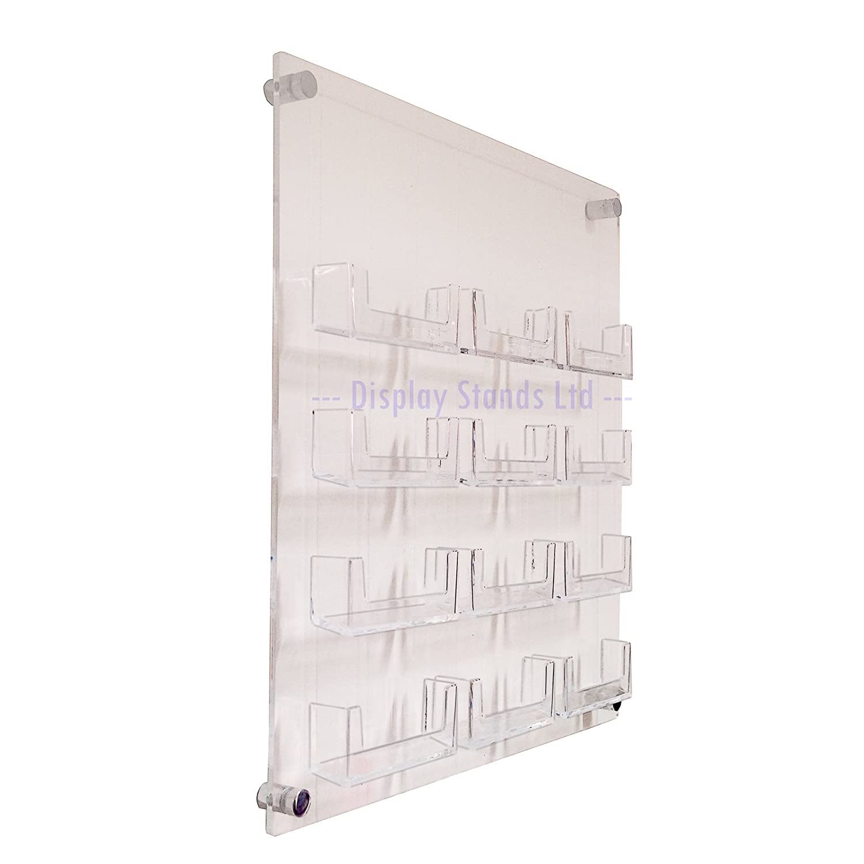 12bahía Panel de pared dispensador de tarjetas de visita (DS25/12C): Amazon.es: Oficina y papelería