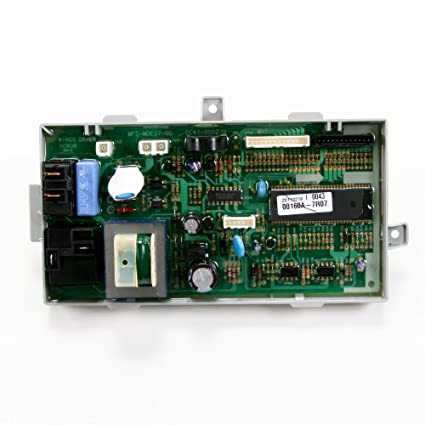 Samsung DC92-00160A Dryer Electronic Control Board Genuine Original  Equipment Manufacturer (OEM) Part