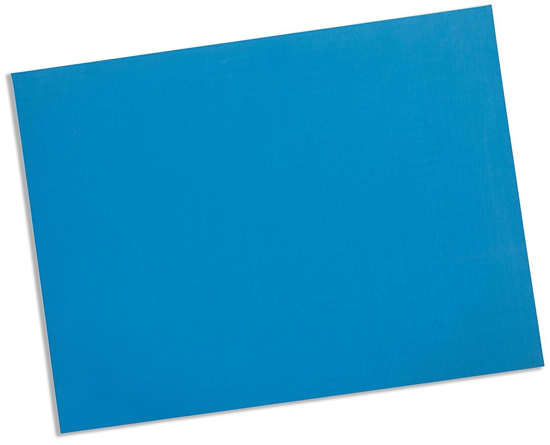 Rolyan Splinting Material Sheet, Polyform, Blue, 1/8'' x 18'' x 24'', Solid, Single Sheet