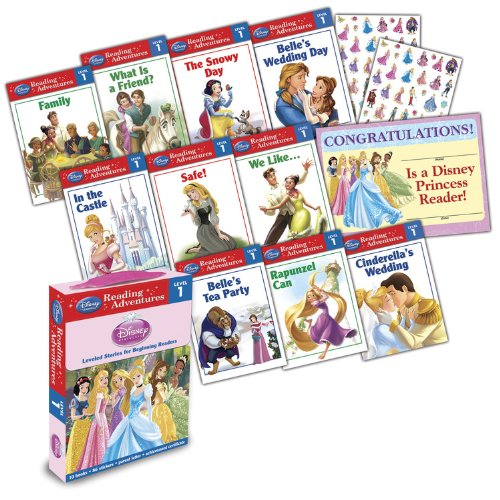 - Disney Princess Reading Adventures Disney Princess Level 1 Boxed Set