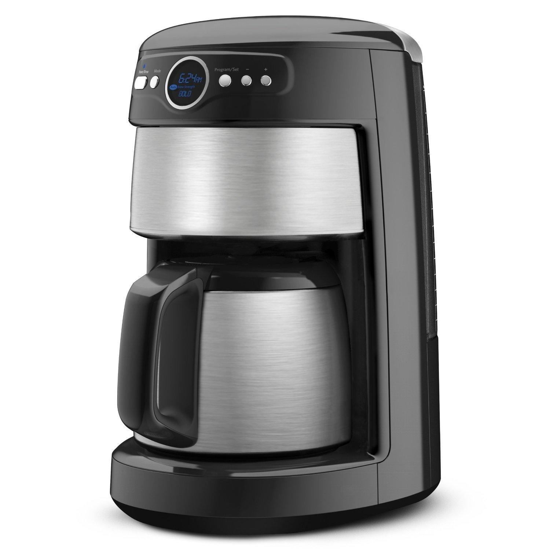 KitchenAid 12-Cup Thermal Carafe Coffee Maker, Onyx Black