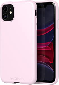 tech21 Studio Colour for Apple iPhone 11 Phone Case - Slim Profile with Anti-Microbial Properties and 8 ft. Drop Protection, Mauve Talc