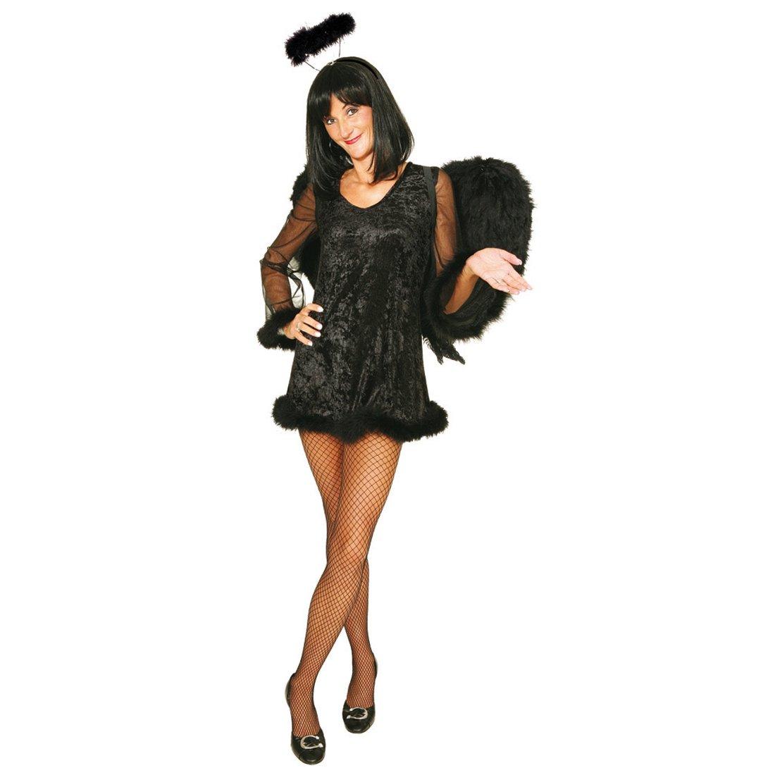 Sexy para disfraz de ángel negro Alfombrilla para ratón de colour ...