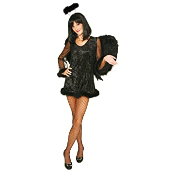 Kleid schwarzer engel