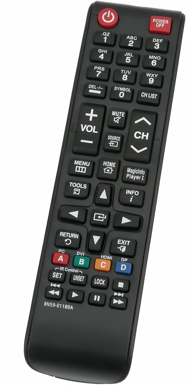 DEHA TV Remote Control for Samsung LE37A567P2W Television