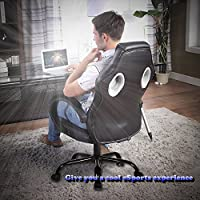 High Back Racing Car Style Bucket Seat Office Desk Chair Gaming Chair from BestOffice