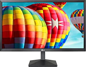 "LG 22MK400H-B 22"" FHD Monitor, 2ms (GTG), HDMI, D-Sub, Radeon FreeSync, Screen Split, Black"