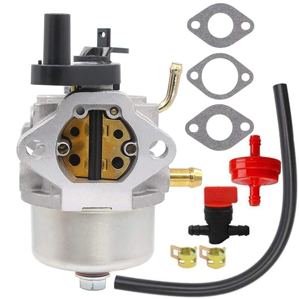 CCR2450 carburetor for Toro 210 221 Powerclear Snowblower Briggs & Stratton 801396 801233 801255 084132 084232 084133 084233 084332 084333 38584 38538 38413 38518 2 Cycle Lawnboy Insight CCR3650 by HOOAI