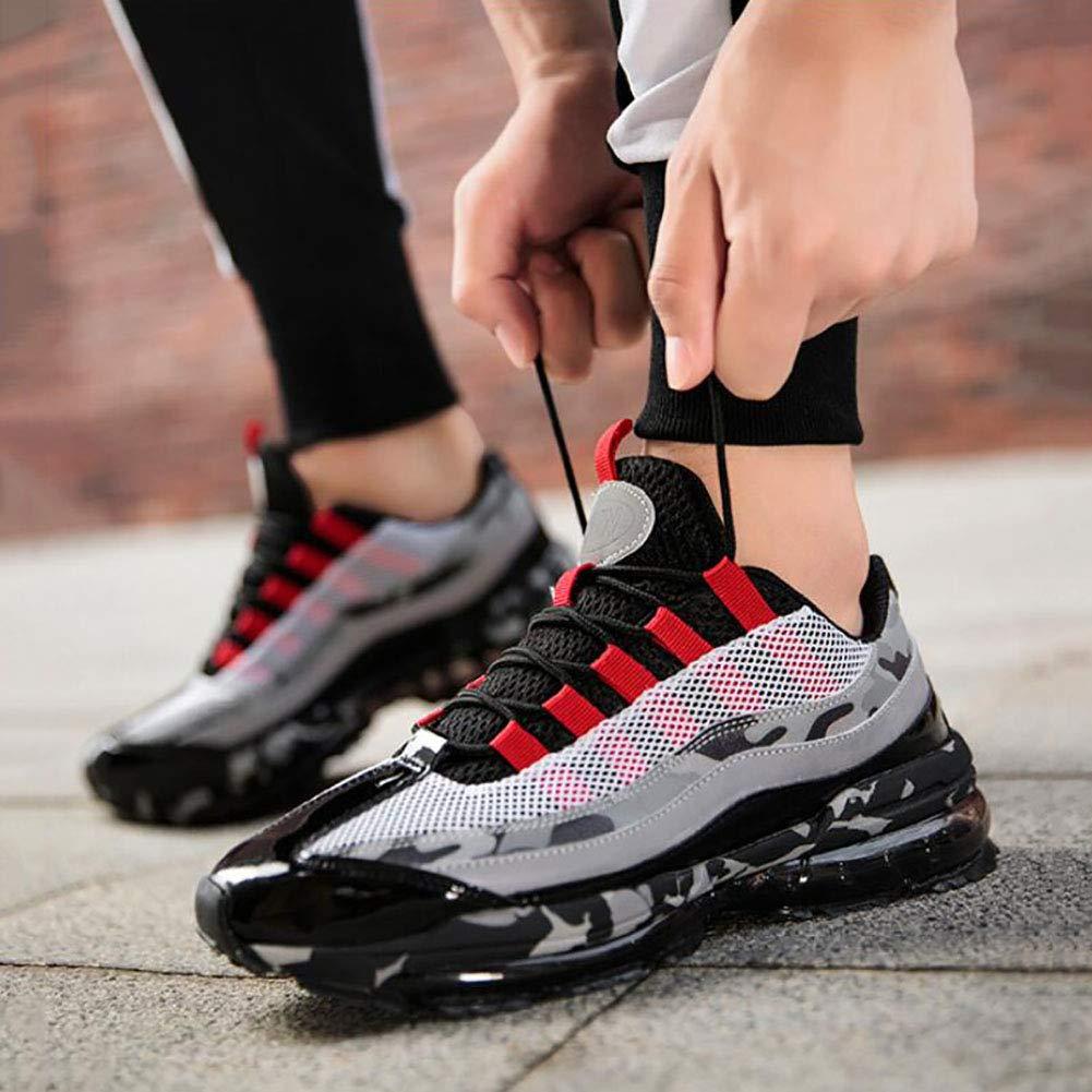 FHTD Zapatos De Los Hombres De Punto De Primavera Y Para Otoño Comfort Tulle Zapatillas De Deporte Para Y Exteriores Transpirables Zapatillas 05f108