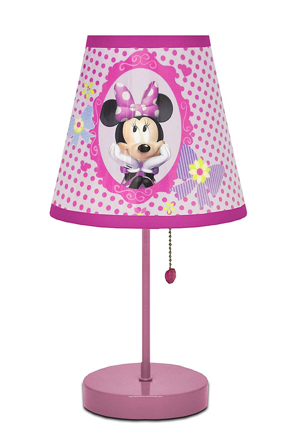 Amazon disney minnie mouse bow tique table lamp toys games geotapseo Images