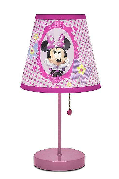 Amazon Com Disney Minnie Mouse Bow Tique Table Lamp Toys Games