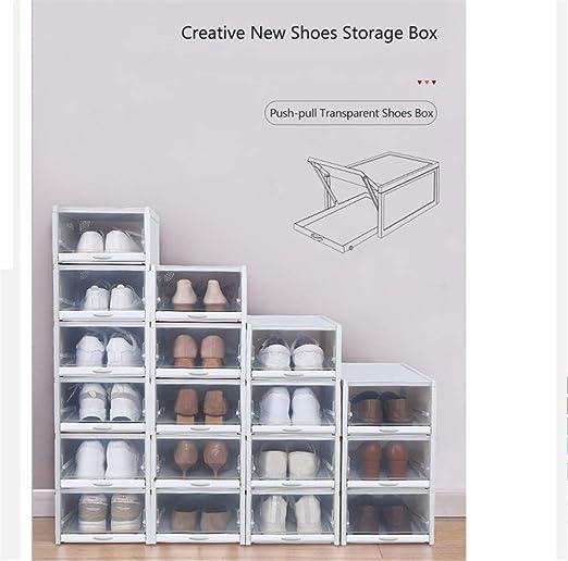3pcs / Set New Shoes Push-Pull Caja del Estante del Zapato ...