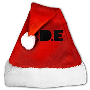 Amazon black letters tde fashion decoration christmas santa black letters tde fashion decoration christmas santa claus hats red for adults and kids spiritdancerdesigns Gallery